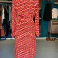 Vintage-Seidenkleid Nina Ricci